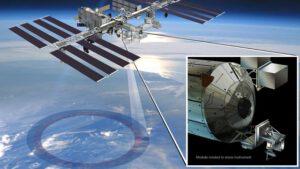 Finální umístění přístroje ISS-RapidScat