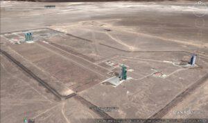 První a doposud nejvýznamnější čínský kosmodrom Jiuquan.