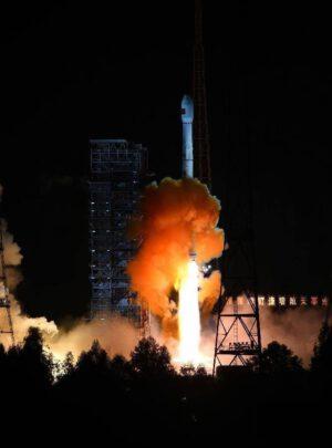 Start rakety CZ-3C