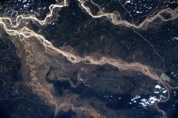 Záplavy v severní Indii.