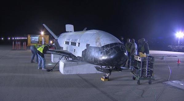 X-37B po první misi OTV-1