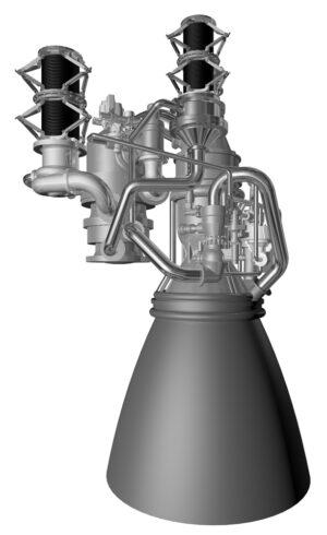 Detail motoru AR-1
