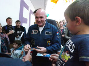Nizozemský astronaut André Kuipers