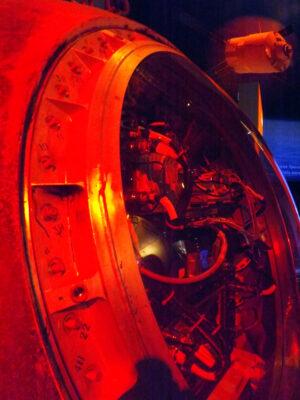 Pohled do interiéru návratové kabiny Fotonu 12
