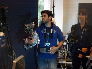 Expozice exoskeletů a telerobotiky