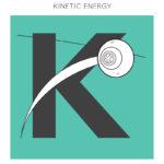 K = Kinetic energy