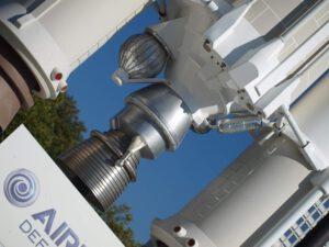 Detail motorové sekce modelu Ariane 5