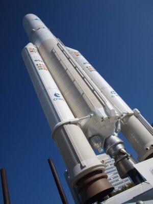 Model rakety Ariane 5