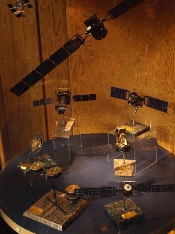 Různé model evropských sond