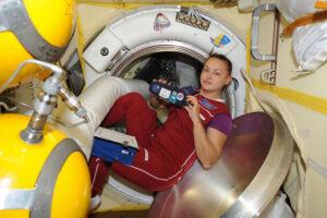 Jelena Serovová na ISS