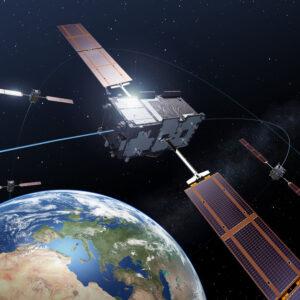 Vizualizace družic systému Galileo