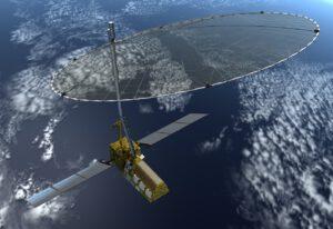 Umělecká představa družice NISAR