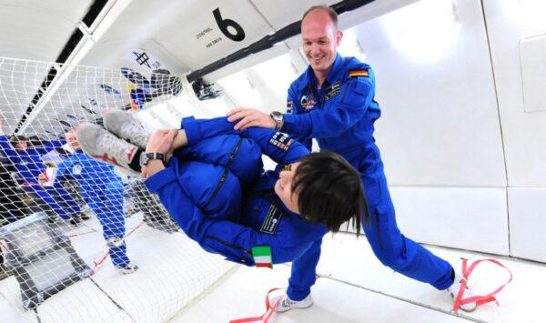 parabolický let