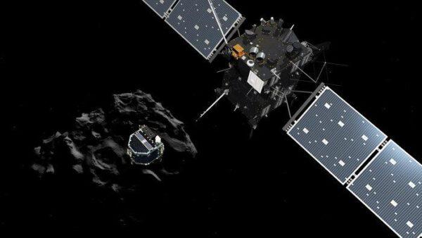 Philae se úspěšně oddělil od Rosetty.