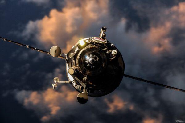 Přibližování Progressu M-25M k ISS