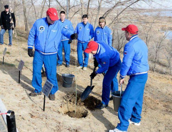 Je to velká čest mít svůj strom v aleji spolu s těmi, které byly zasazeny každým člověkem, který kdy opustil Zemi z Bajkonuru.