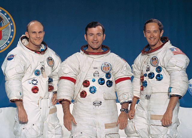Posádka Apolla 16: Mattingly, Young, Duke