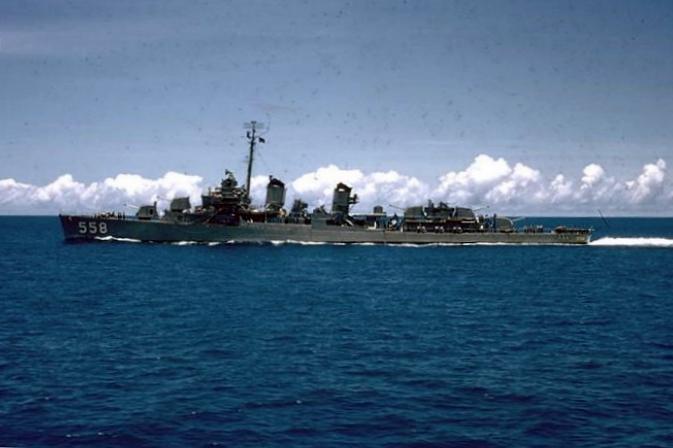 Torpédoborec USS Laws