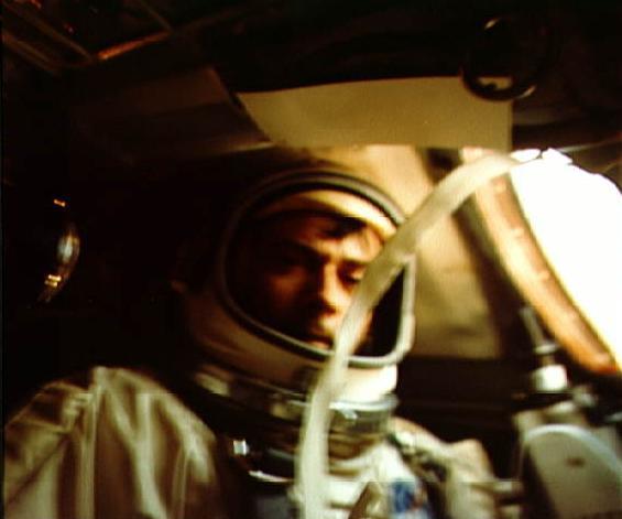 Young v kabině Gemini X
