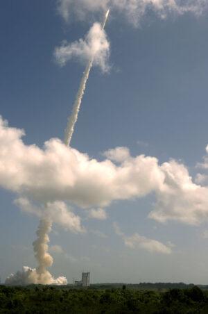 Start Ariane 5 s Herschelem a Planckem.