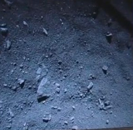 Fotka povrchu jádra