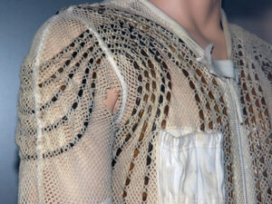 Detail trubiček, kterými v prádle cirkuluje chladná voda.