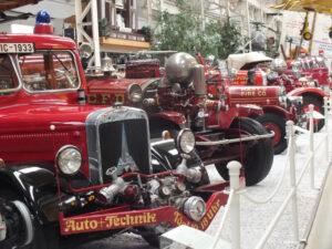 Výstava hasičské techniky