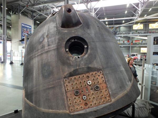 Návratová kabina Sojuzu TM-19