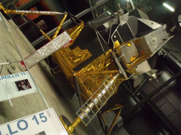 Model lunárního modulu