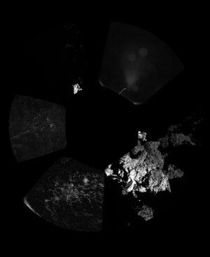 Kompletní mozaika snímků z kamer CIVA.