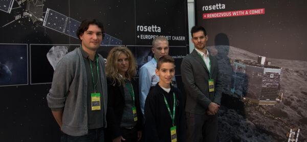 Vítězové soutěží s ESA