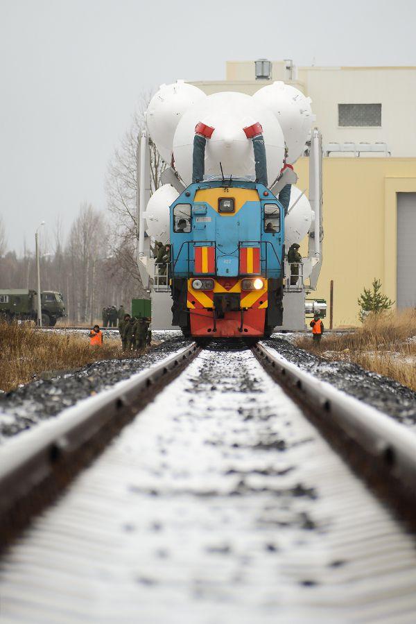 Rusové zůstávají věrní tradici - i nové Angary se převáží po kolejích