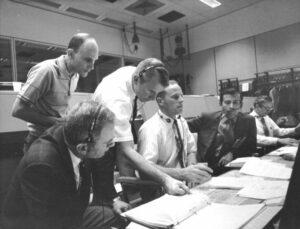 Řídicí středisko během krize Apolla 13