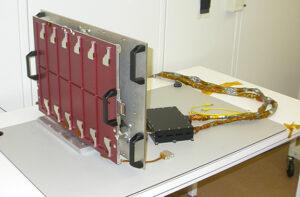 VB-SDC s provizorními ochrannými poklopy na detektorech