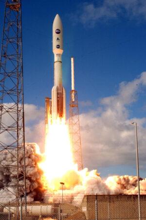 Start rakety Atlas V se sondou New Horizons