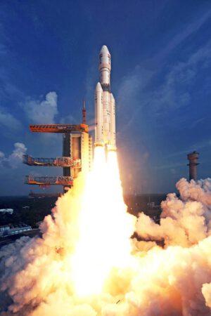 První start indické rakety GSLV Mk III