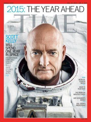 Scott Kelly na obálce časopisu TIME