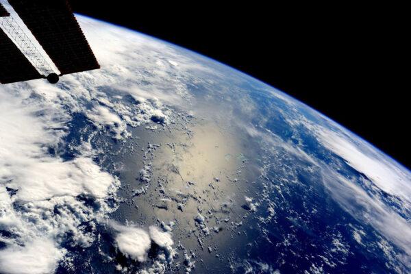 Jedna z prvních fotek, které Samantha poslala na Zemi