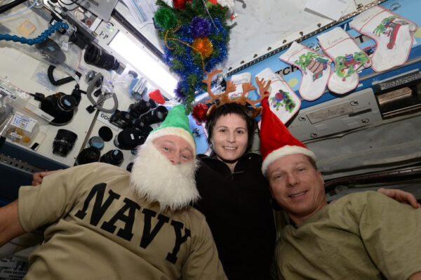 Veselé Vánoce z ISS!