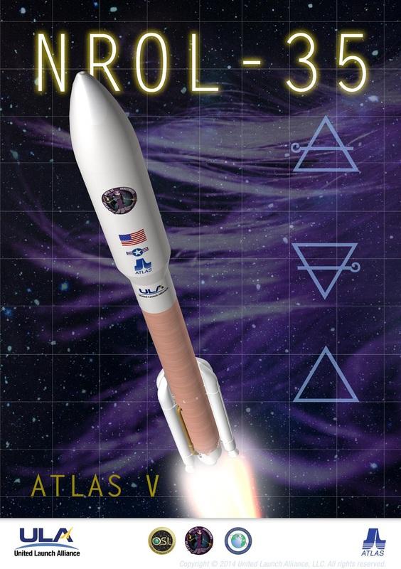 Plakát k misi NROL-35