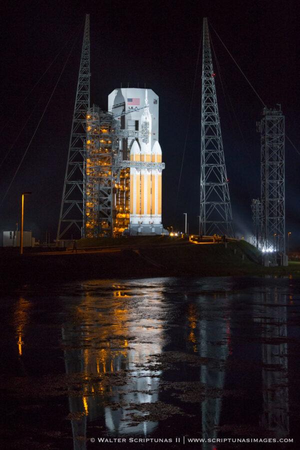 Majestátní krása rakety Delta IV Heavy