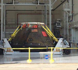 Loď Orion z mise EFT-1