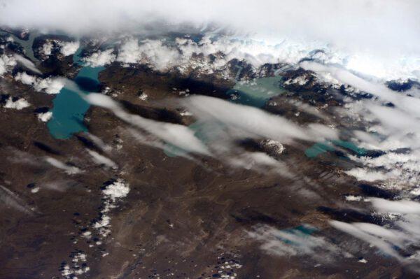 Argentinská jezera Lago Argentino, Lago Viedma a Lago San Martin