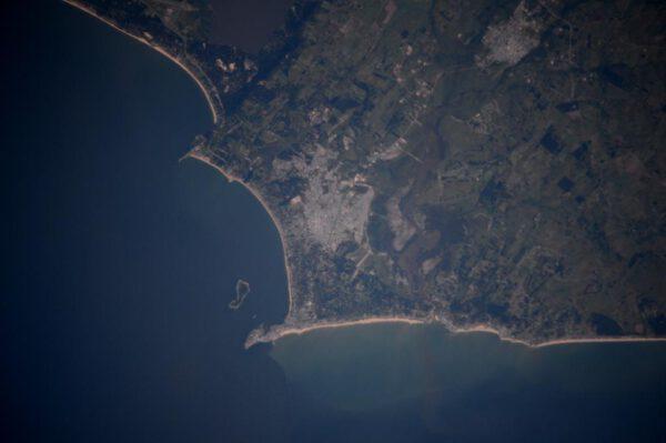 """""""Dobré ráno z vesmíru, Uruguay! Je tohle plážová dovolenková sezóna v Punta del Este?"""""""
