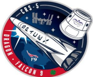 Logo mise SpaceX-CRS 5