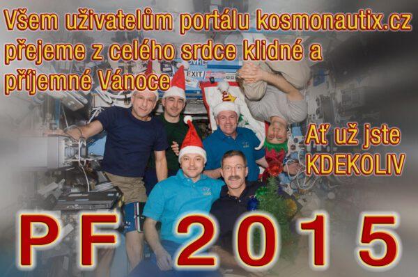 Veselé Vánoce Vám přeje tým redaktorů portálu kosmonautix.cz