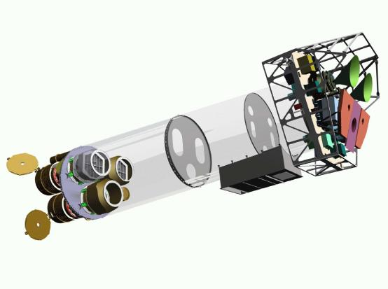 Průřez teleskopem XMM-Newton
