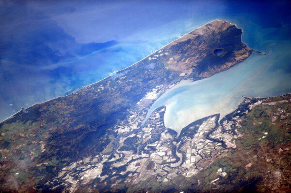"""""""Vidíte jezero v kráteru vulkánu Cosiguina v Nikaragui?"""""""