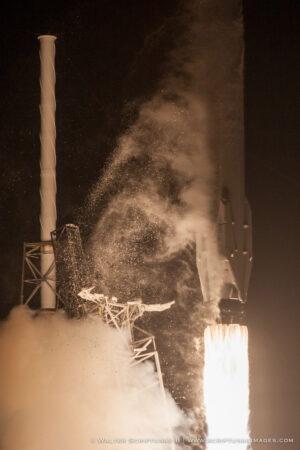 První stupeň Falconu 9 při startu