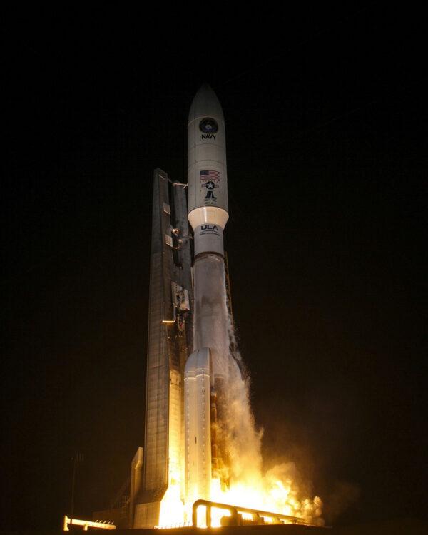 Atlas 5 vynáší MUOS-3